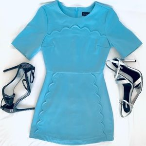 DRESS- TOP SHOP Sky blue mini Dress